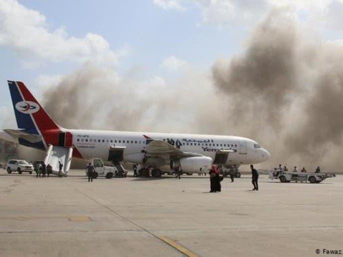 يمن: ايران و حزبالله پشت حمله موشکی به فرودگاه عدن بودهاند