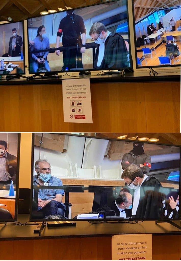 من محاكمة الخلية الايرانية في 27 نوفمبر