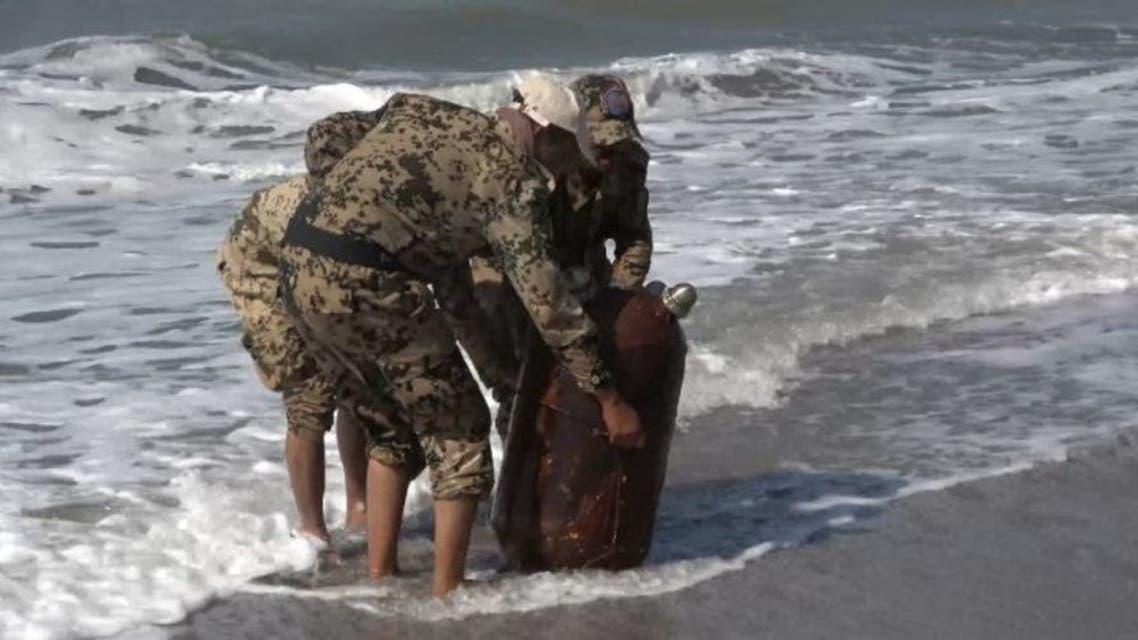 Yamen:Iran's mines Sadaf recovered from sea
