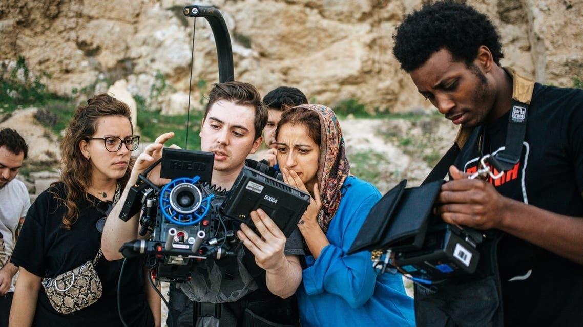 SFP2 Short Film Production Grant awardee Julian Alexander on the set of 'Layla, at Last,' 2019. (Image courtesy: Julian Alexander)
