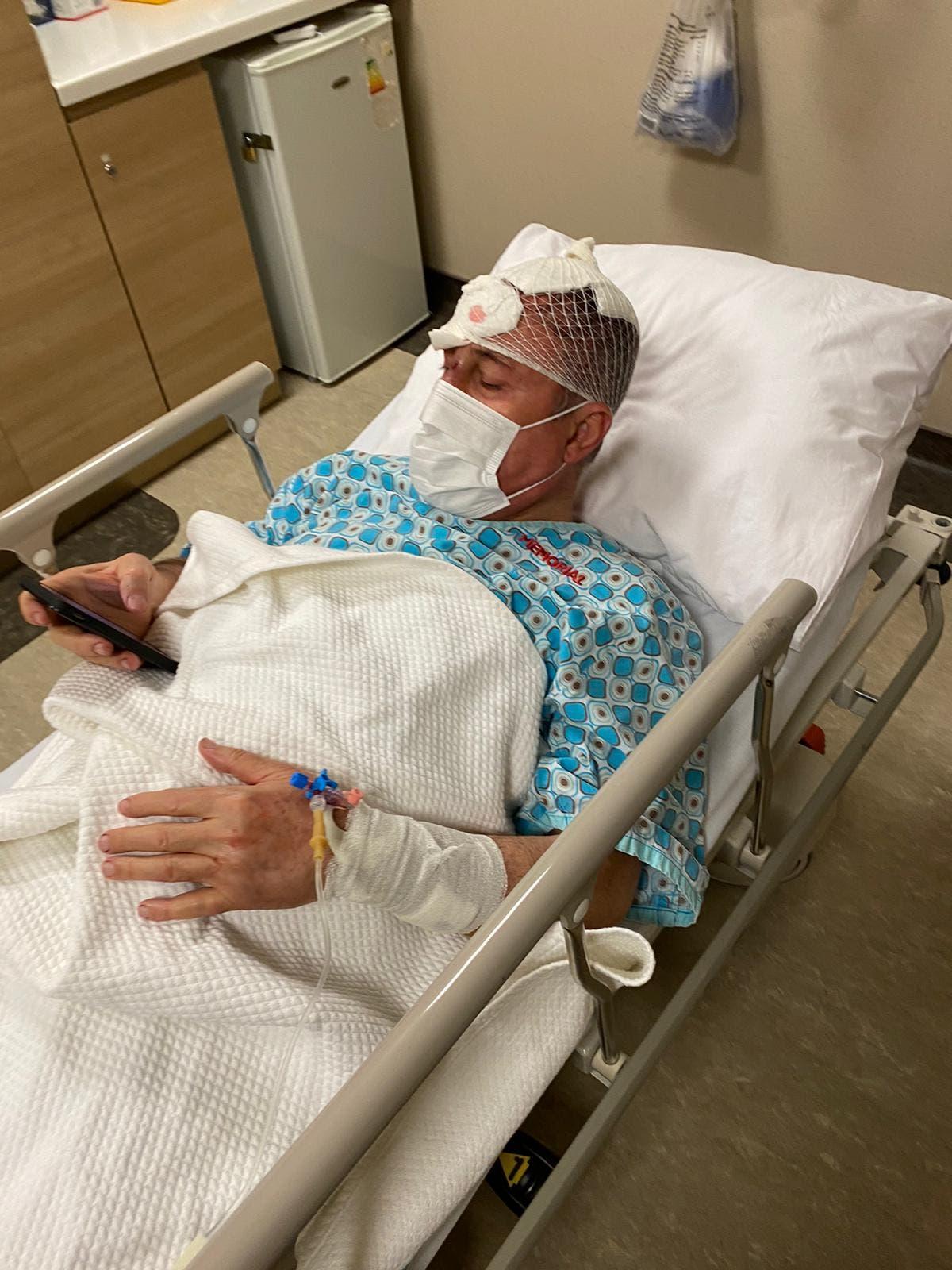 سلجوك أوزداغ بالمستشفى