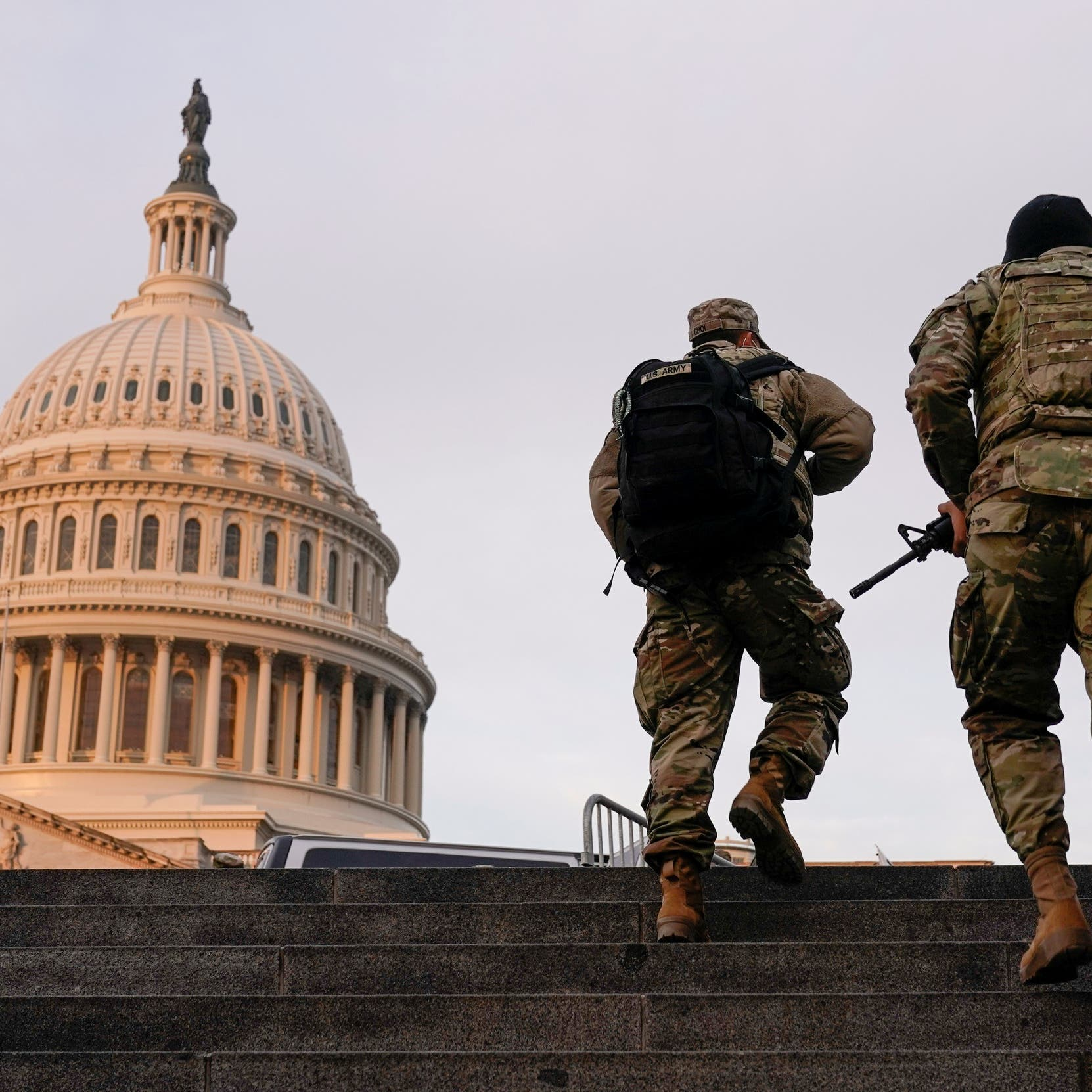Pentagon set to extend National Guard deployment at US Capitol for two months