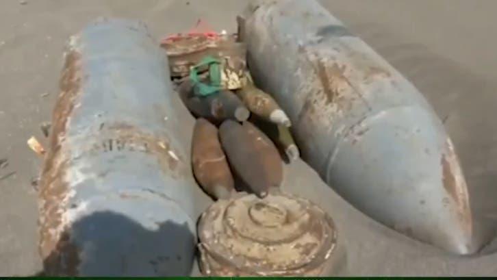 فيديو.. إتلاف وتفجير 1513 لغماً حوثياً غربي اليمن