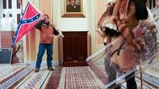 السلطات الأميركية تكشف عن مصير حامل علم الكونفدرالية في الكونغرس