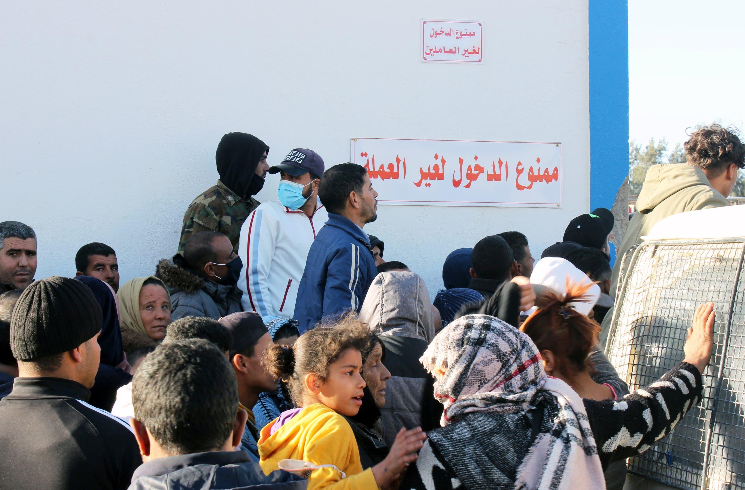 از اعتراضات در تونس