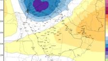 توقعات بانخفاض درجات الحرارة في السعودية للصفر