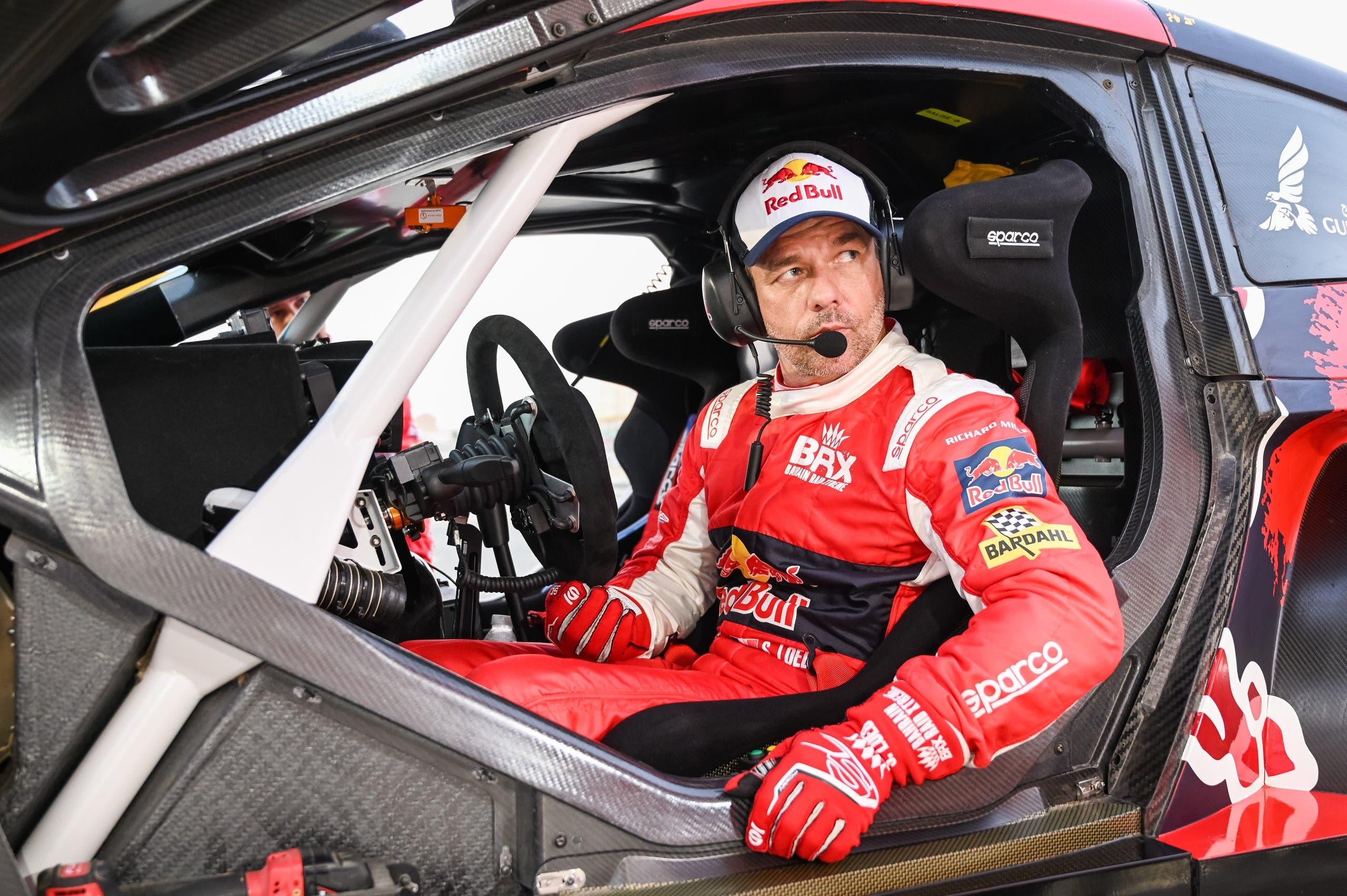 Sebastien Loeb competing in the 2021 Dakar Rally. (Supplied)