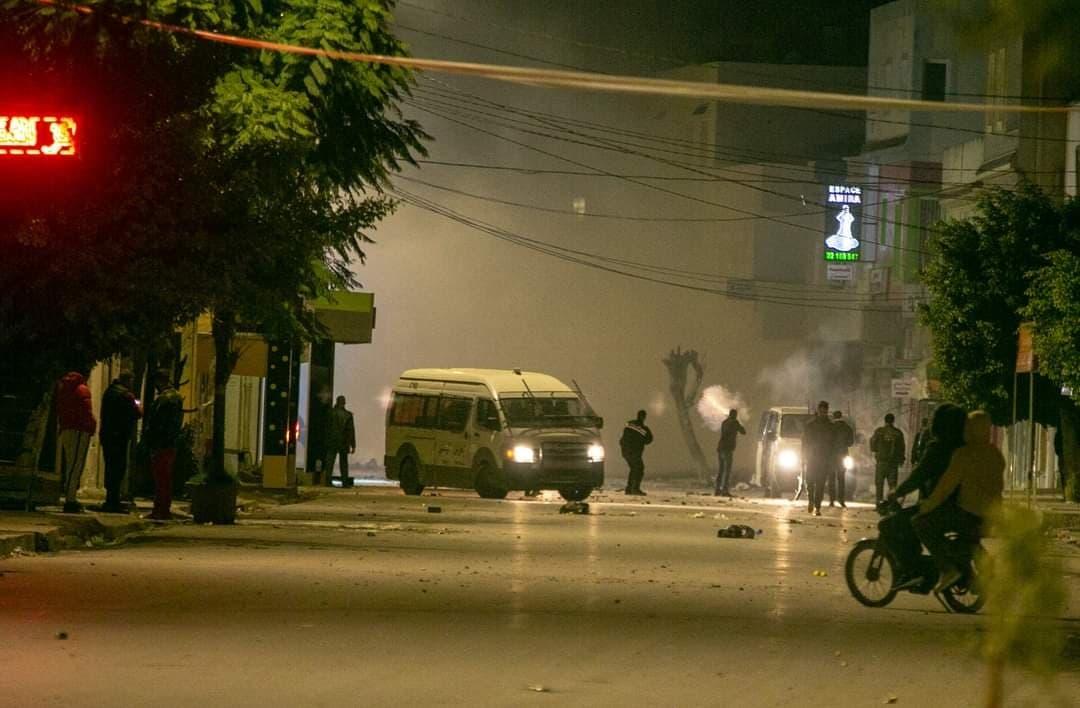 من احتجاجات تونس