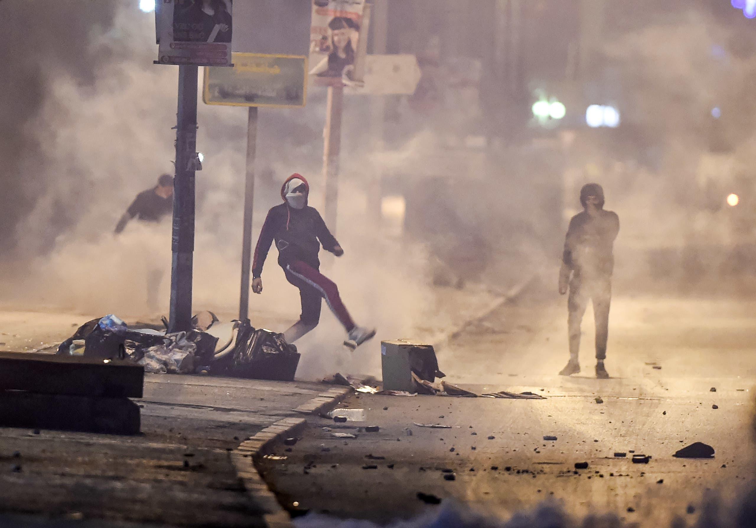 من ضاحية مدينة التضامن يوم 17 يناير