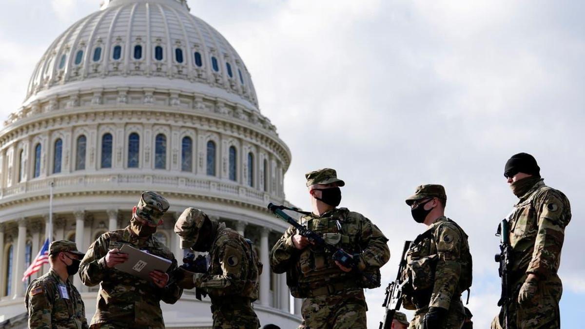 Joe Biden Oath Ceremony and Security