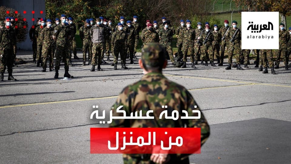مجندون يؤدون الخدمة العسكرية