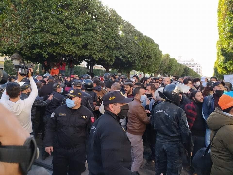 مظاهرات تونس