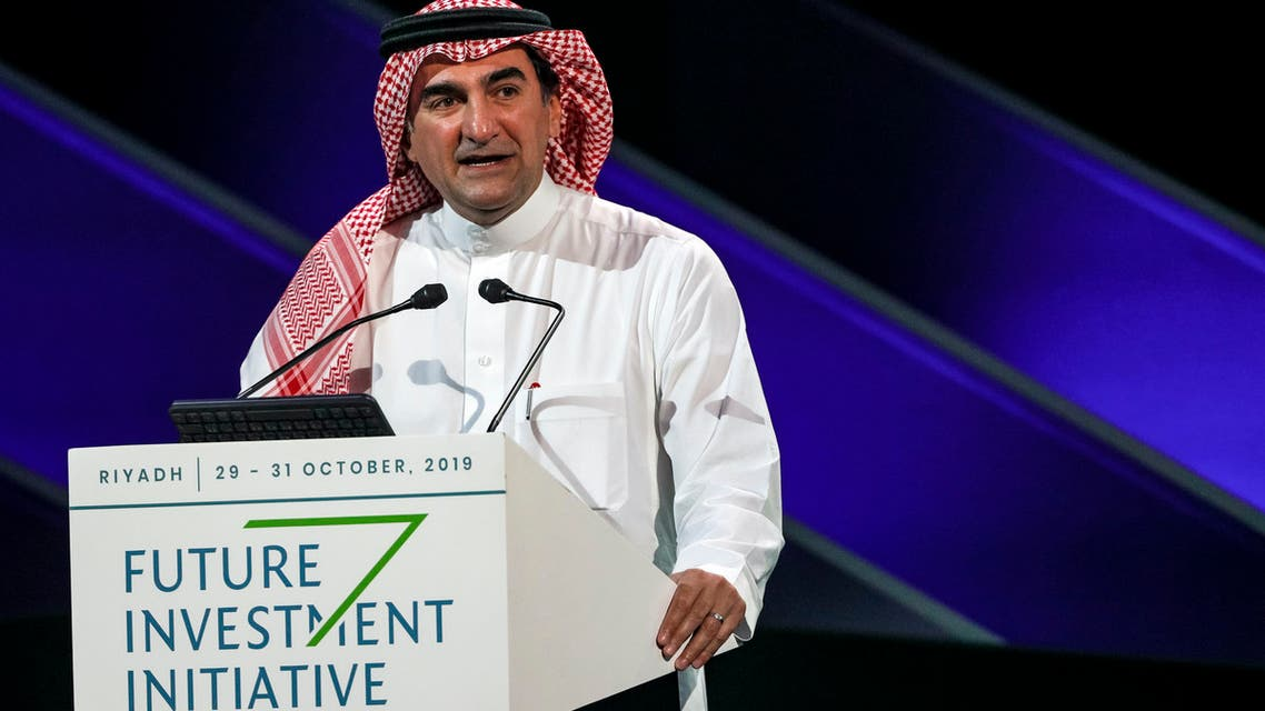 Yassir al-Rumayyan, Governor of Saudi Arabia's Public Investment Fund and FII Institute Chairman, speaking at the opening of the 3rd Edition of FII on October 29, 2019. (Supplied)