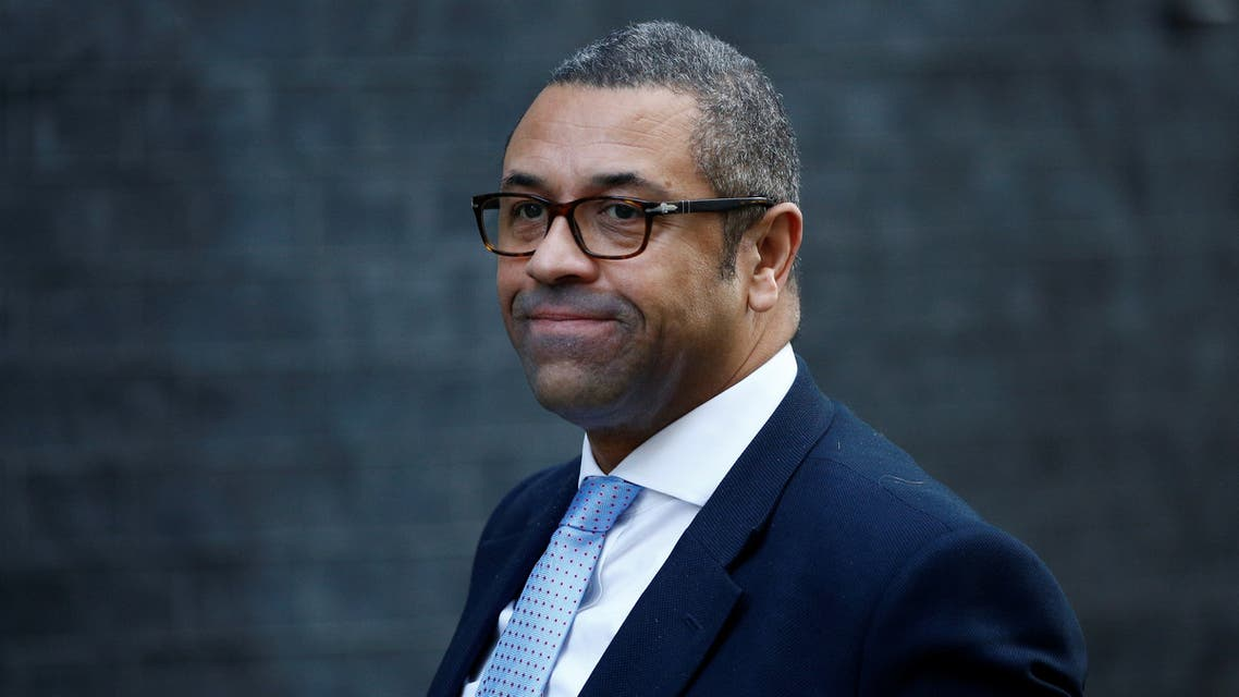 Britain's Conservative Party Chairman James Cleverly is seen outside 10 Downing Street London, Britain, January 21, 2020. REUTERS/Henry Nicholls