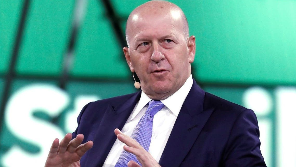 David Solomon, the CEO of Goldman Sachs, speaks during the Bloomberg Global Business Forum in New York City, New York, US, on September 25, 2019. (Reuters)