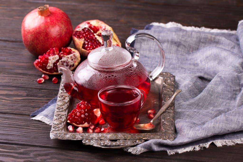 شاي الرمان