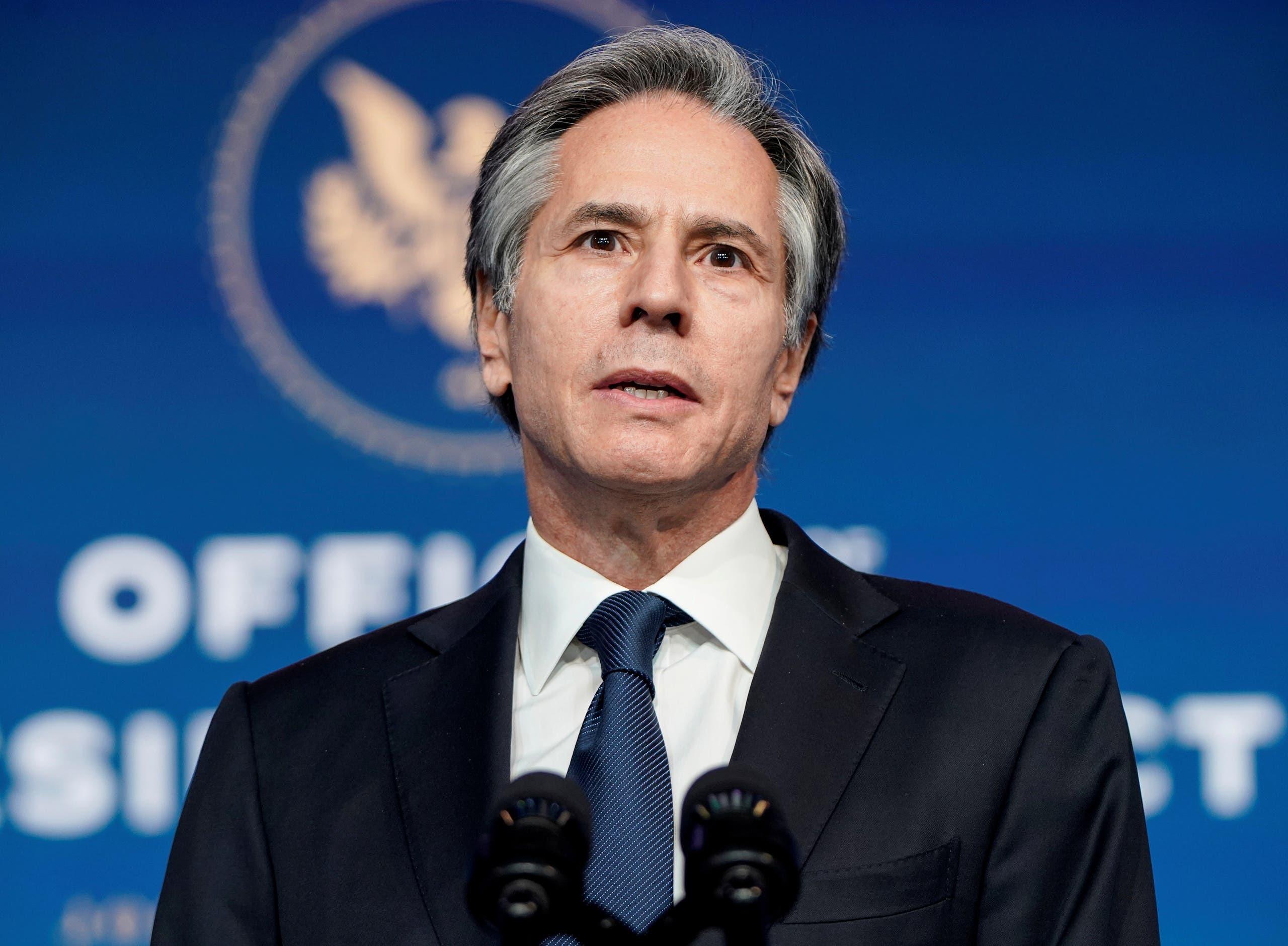وزير الخارجية الأميركية الجديد انتوني بلينكن