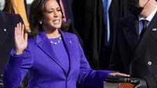 کمالا ہیرس امریکہ کی پہلی خاتون نائب صدر بن گئیں