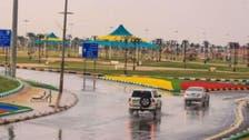 سعودی عرب: مختلف علاقوں میں بارشوں، دھند، آندھی اور سمندری طغیانی کی وارننگ