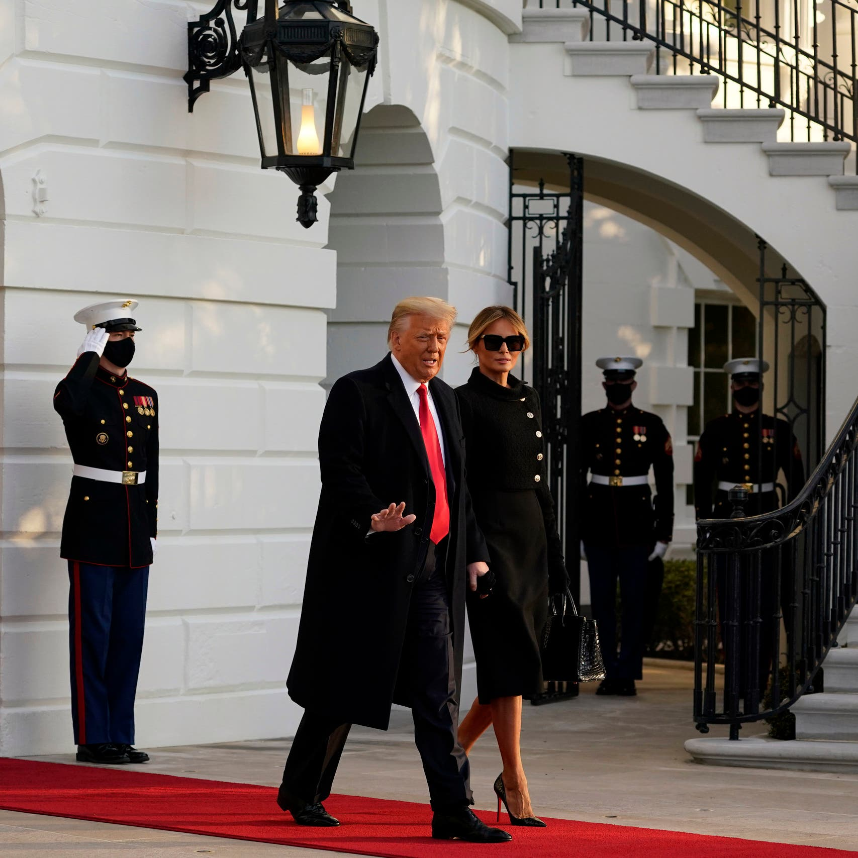 ترمب يترك رسالة لبايدن في البيت الأبيض