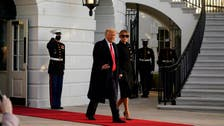 Trump leaves White House for the last time as president