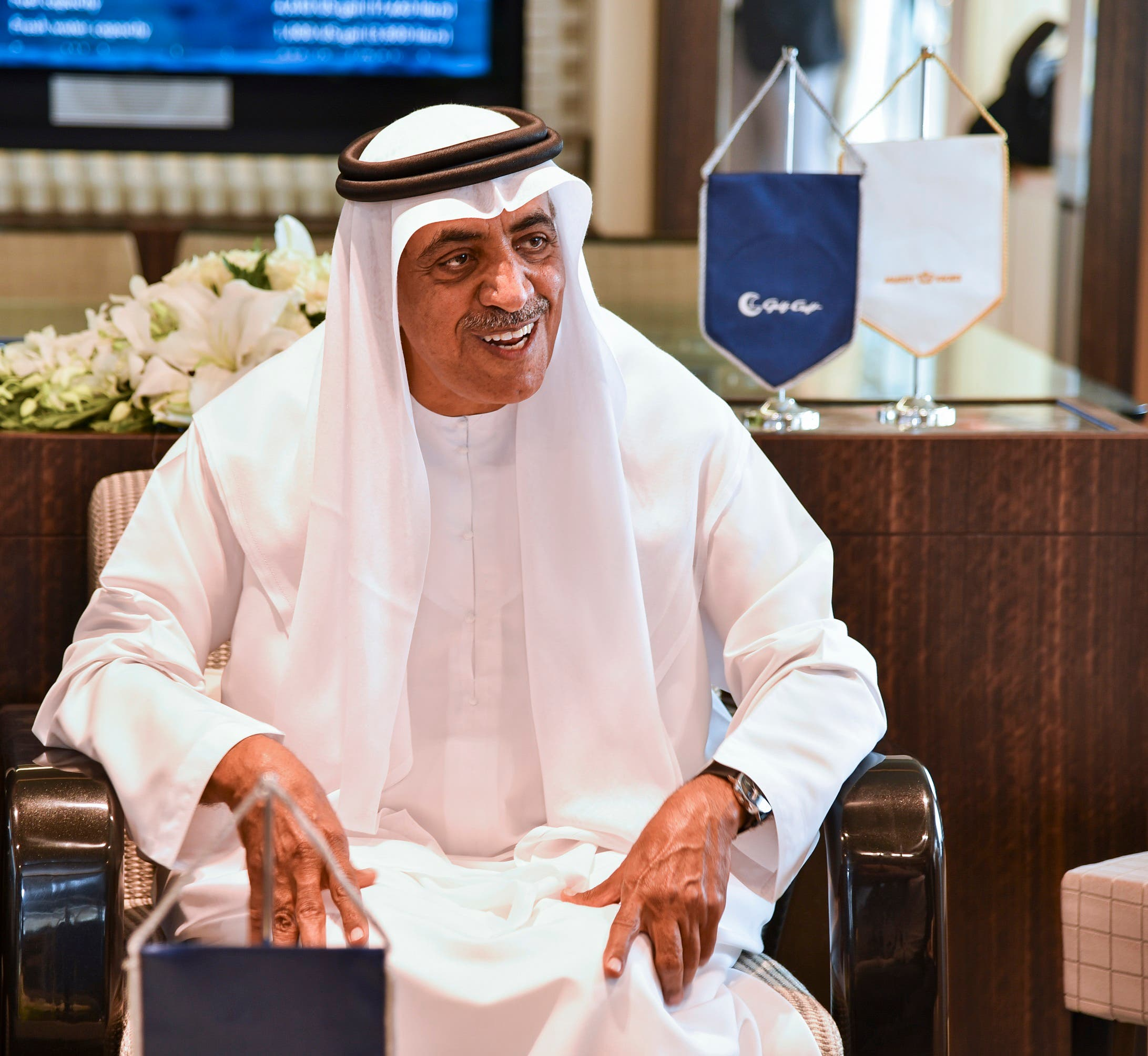 Chairman of Gulf Craft, Mohammed H. al-Shaali (Supplied: Gulf Craft)