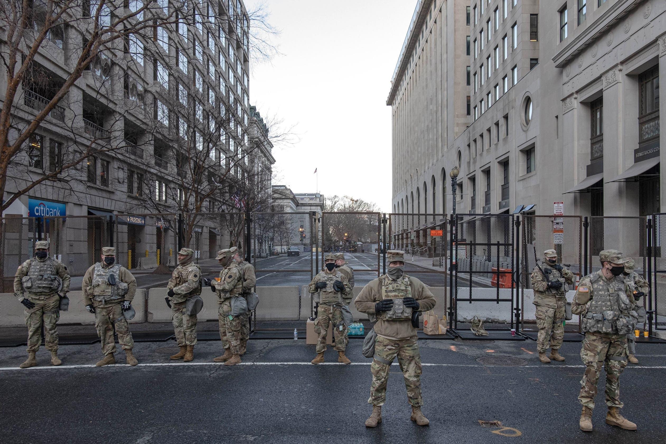 تعزيزات أمنية في واشنطن