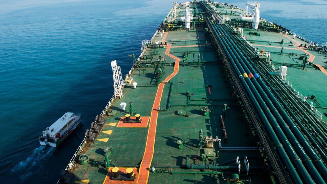 ناقلة النفط الكورية المحتجزة في إيران