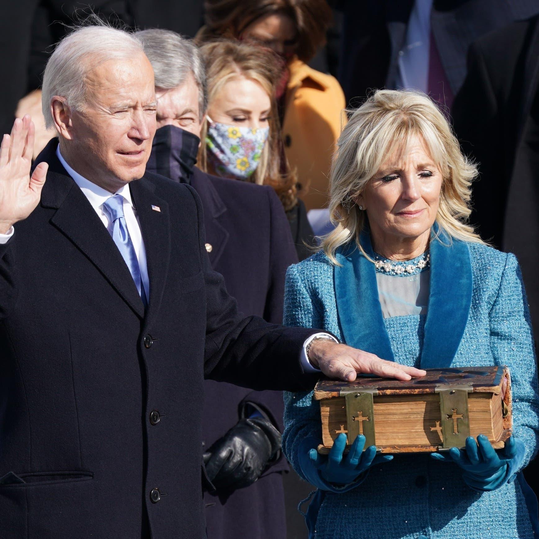 رسمياً.. بايدن الرئيس الـ 46 للولايات المتحدة الأميركية