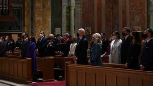 مشارکت بایدن در مراسم نیایش در کلیسای قدیس ماتیو