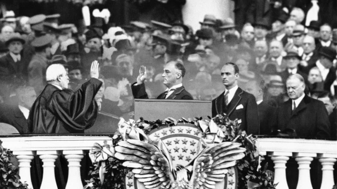 حفل تنصيب روزفلت سنة 1933