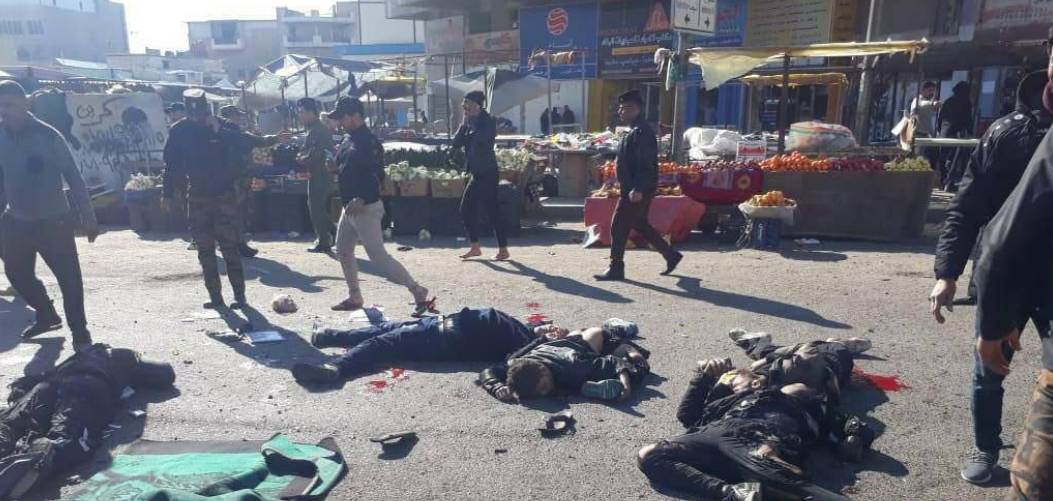 تصاویری از انفجار بغداد