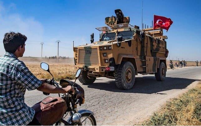 آلية تركية  في سوريا (أرشيفية)