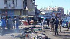 بغداد کے وسط میں دُہرا خودکش حملہ، 35 افراد لقمہ اجل بن گئے