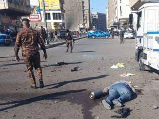 هجوم انتحاري مزدوج يهز وسط بغداد.. وصور مروعة