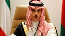 Saudi Foreign Minister discusses regional challenges with US counterpart