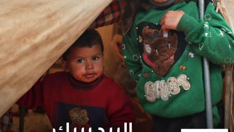 غرق مخيمات النازحين وتشريد عشرات الآلاف بسوريا