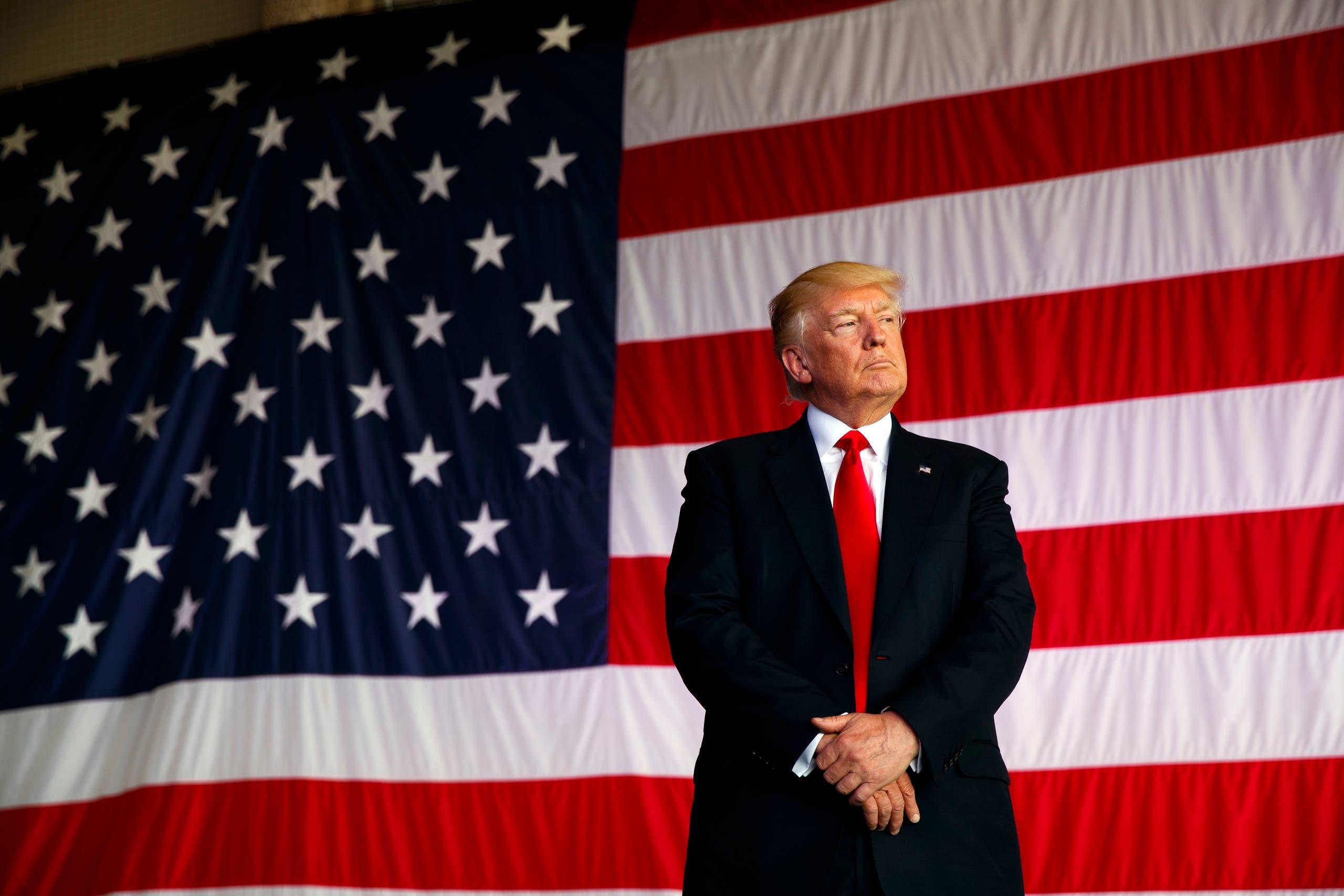 President Donald Trump. (AP)