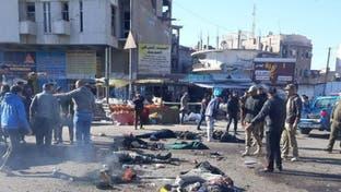 دخان وأشلاء.. فيديو مؤلم للحظة وقوع انفجار بغداد