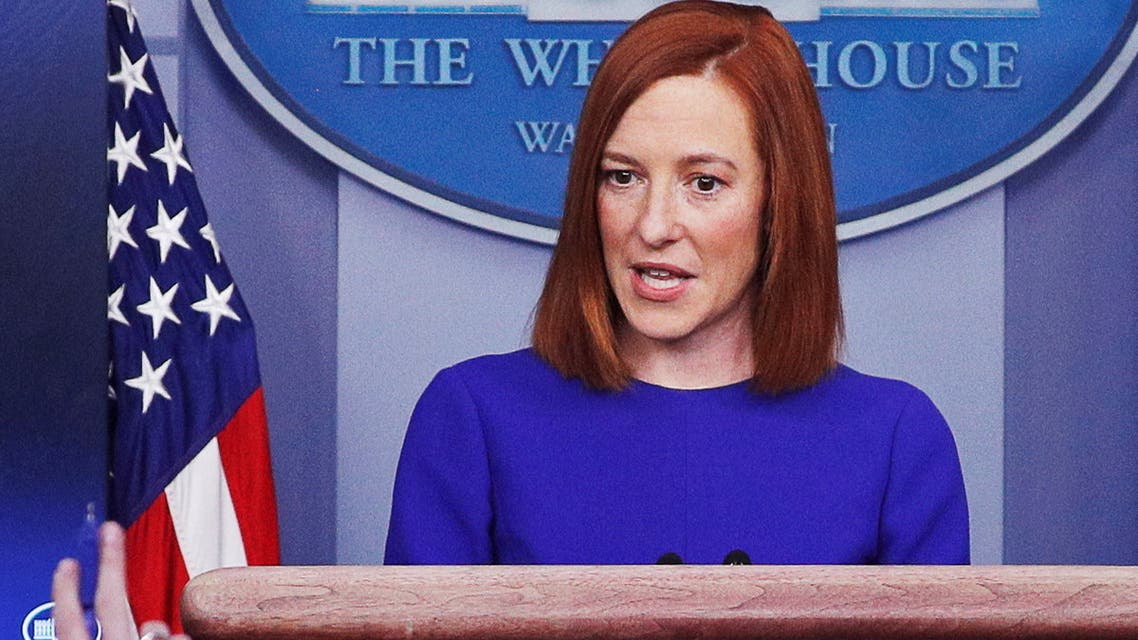 المتحدثة باسم البيت الأبيض جين بساكي(رويترز)