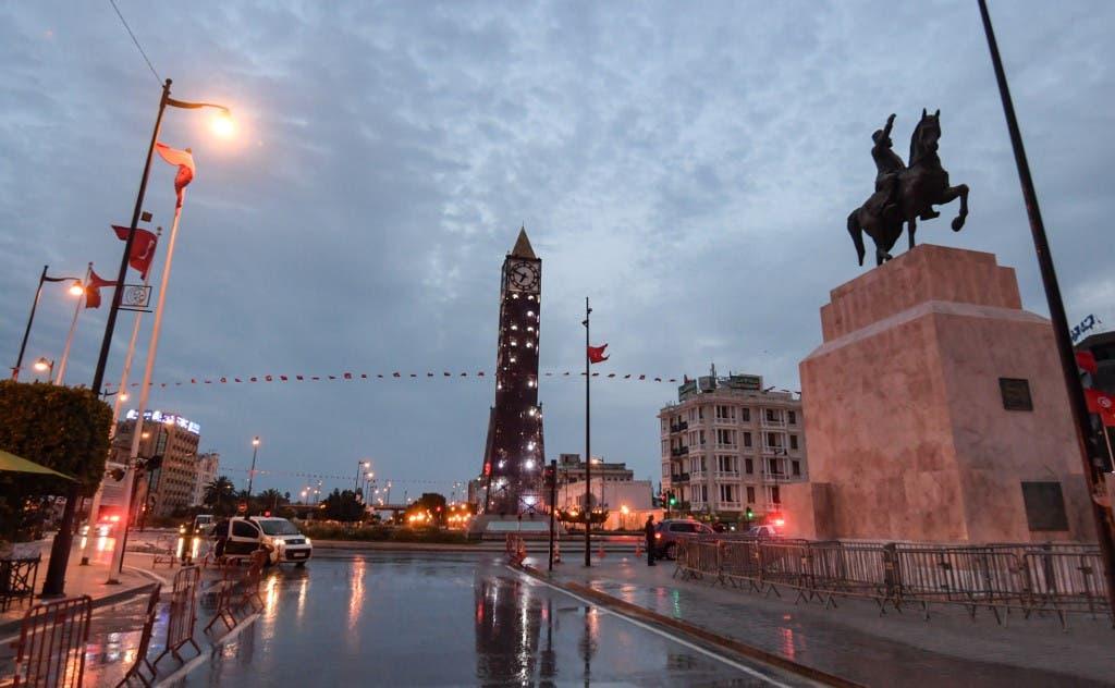 من وسط العاصمة التونسية