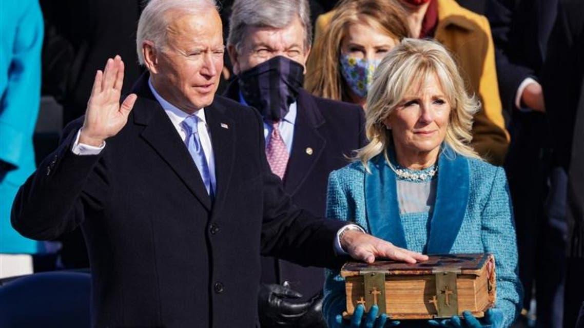 Joe Biden Oath Ceremony