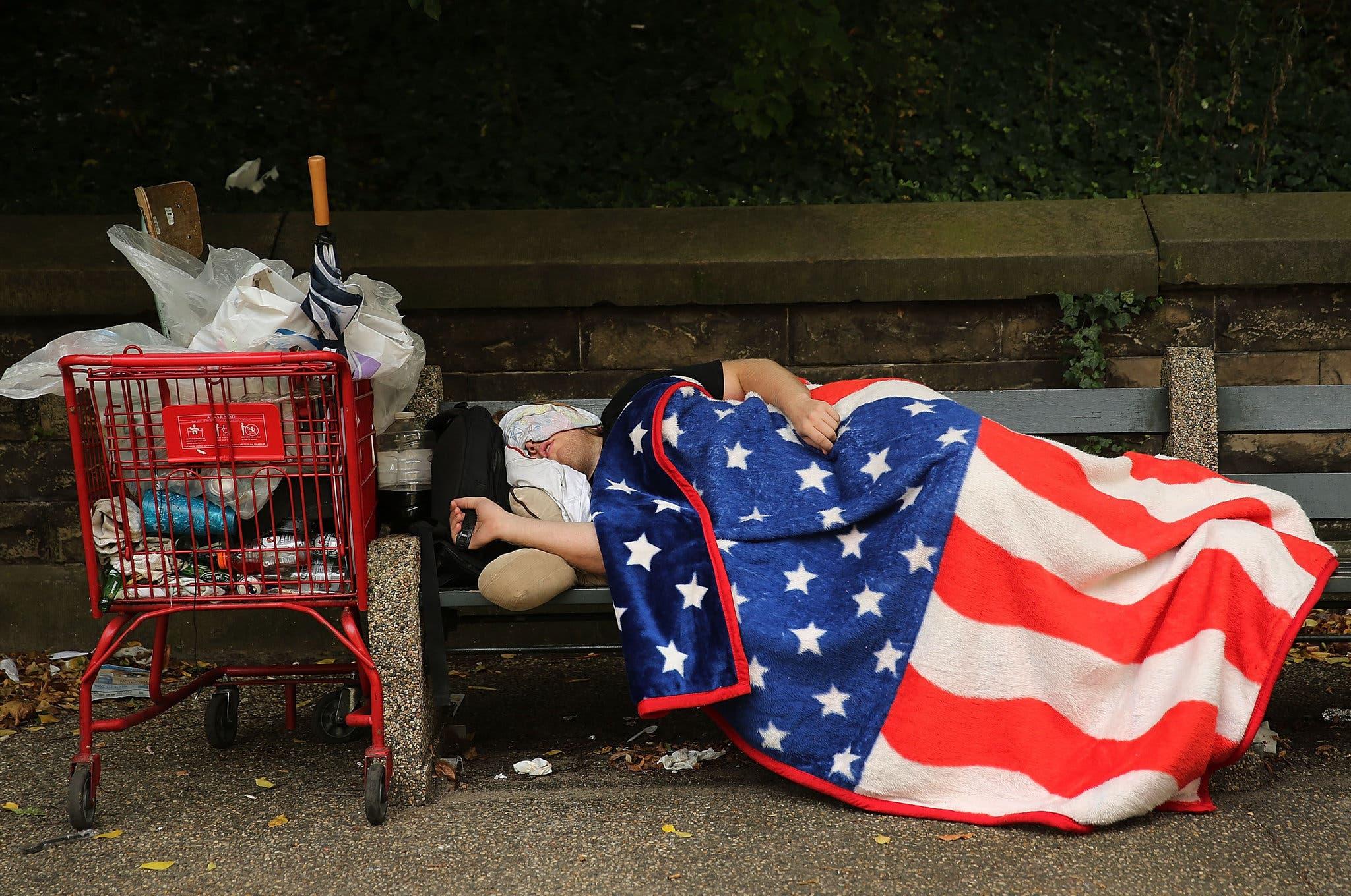 الفقر في أميركا