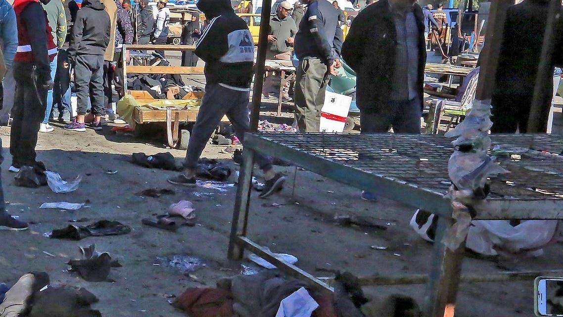 Iraq: Baghdad Blast