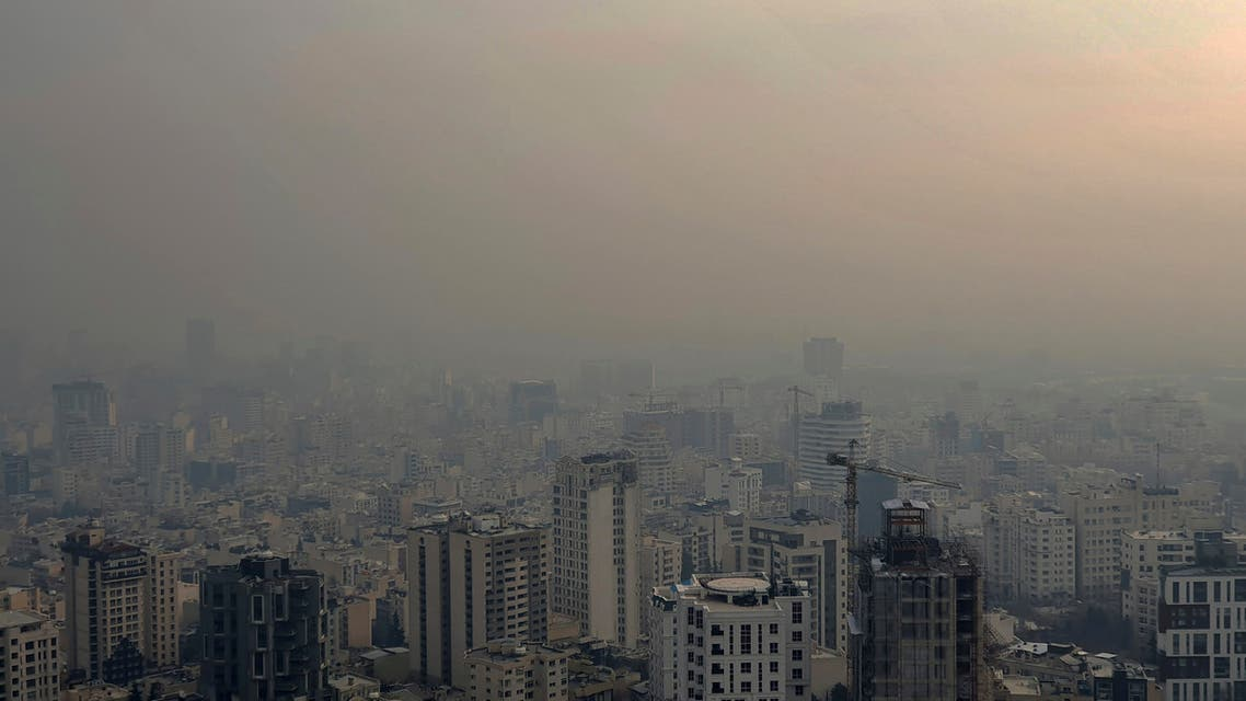Air pollution blankets the skyline in Tehran, Iran. (File photo: AP)