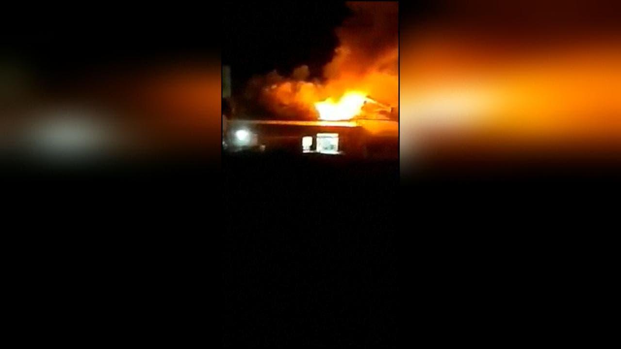 صواريخ تستهدف محيط مطار بغداد