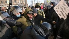 Police detain over 1,000 people, Navalny's wife at protests across Russia