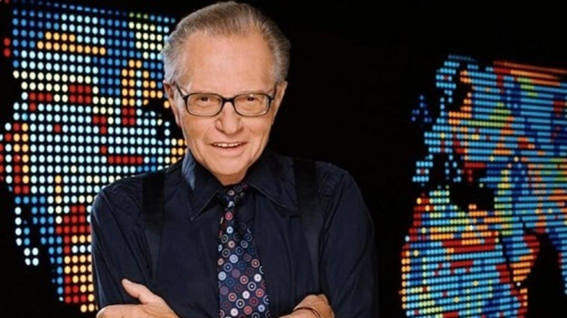 Veteran talk show host Larry King. (Twitter)