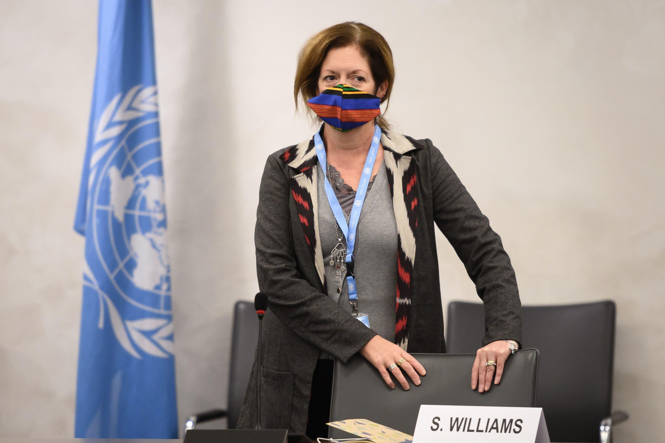 سفیر فعلی سازمان ملل در لیبی استفانی ویلیامز