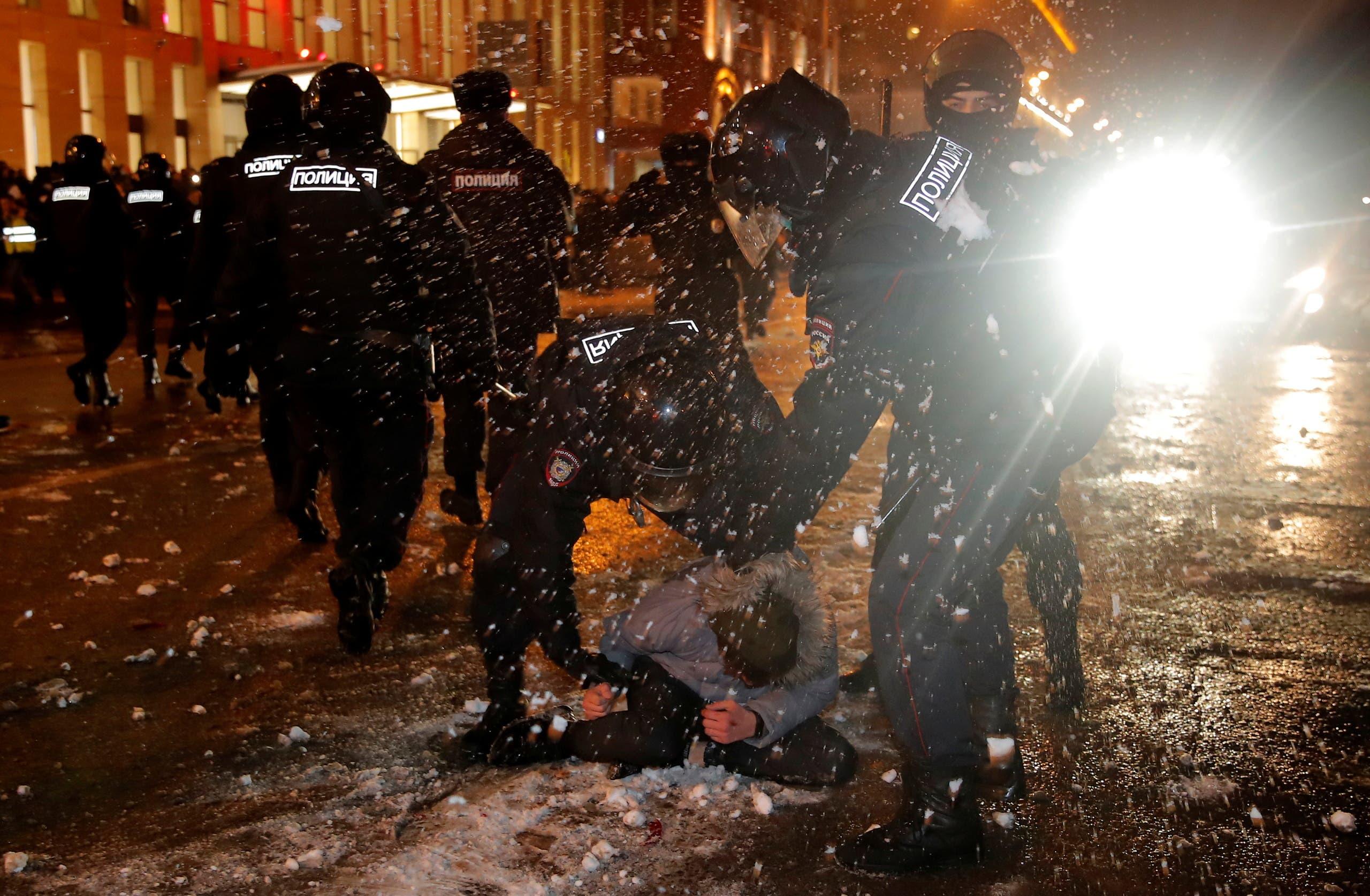 من موسكو يوم 23 يناير